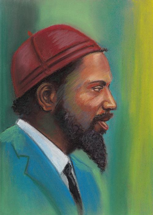 Thelonious Monk by godena